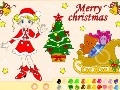 game - Christmas Coloring