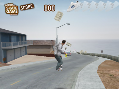 game - Skateboard - street race