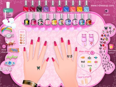 game - Barbie's Beautiful Hands