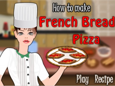 game - French Bread Pizza