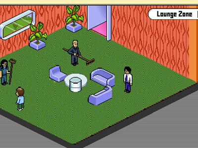 game - Habbo Hotel - Youth Club
