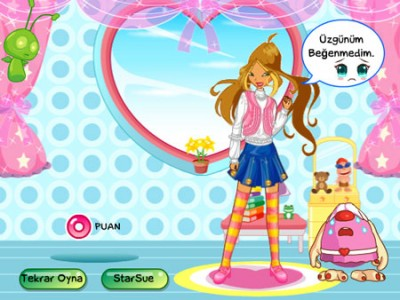 game - Make up for the Winx club