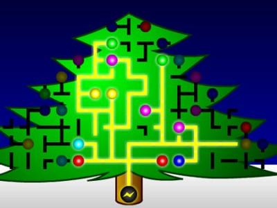 Christmas Tree Lights - Play fun games at Lolygames.com