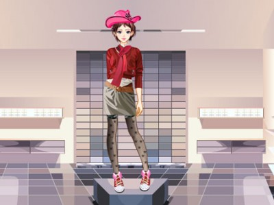 game - Fashion Store Model Dress Up