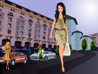 game - Chic Spring Fashion Dress Up