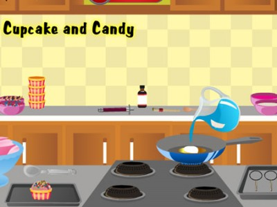 game - Cook Cupcake and Candy
