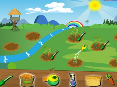 game - Vegetable Garden