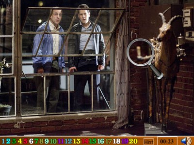 game - Hidden Numbers-Dinner for Schmucks