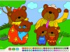 Bear Family-Coloring games