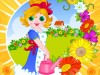 Flower Gardening-Management game