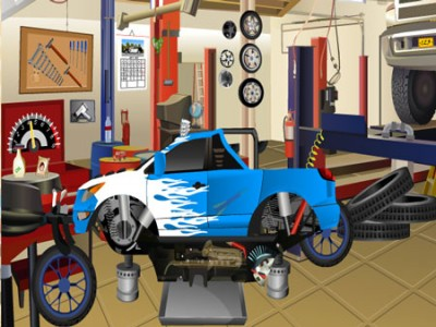 game - Hidden objects in the Garage