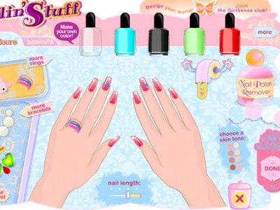 Stylish Manicure Dress Up Barbie And Girl Games Online For Free