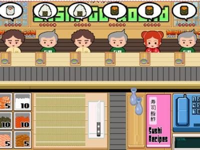 sushi restaurant online time management games play for free. Black Bedroom Furniture Sets. Home Design Ideas