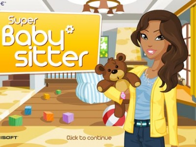 game - Super Babysitter