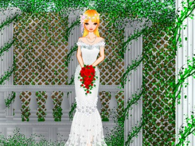 game - Dress-up princes Bride