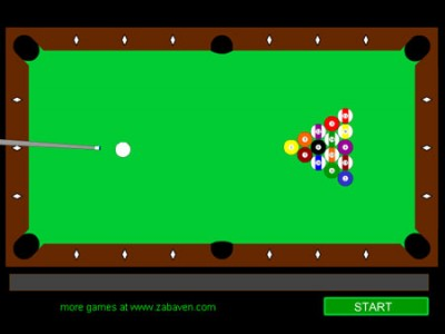 game - A quick game of snooker
