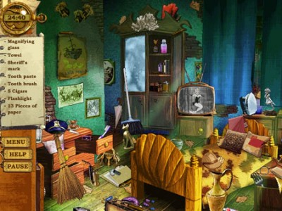 Steve The Sheriff Online Play Free Online Hidden Object Games No