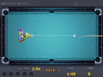game - Quick shooting pool