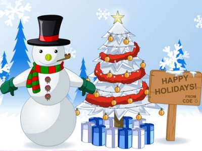 game - Lovely Snowman Dress Up