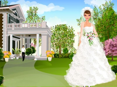 Game   My Dream Wedding Dress Up