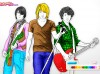 Jonas Brothers Coloring-Coloring games